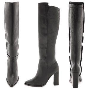 $695 Loeffler Randall's Minetta Knee High Boots